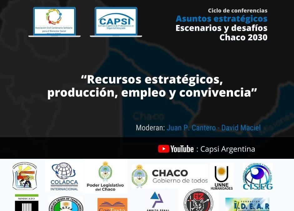 Escenarios y desafíos – Chaco 2030