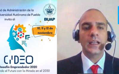 Participación en el Congreso Internacional CIIDEO 2020