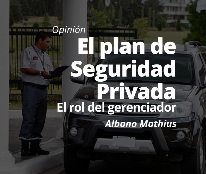 EL plan de Seguridad Privada