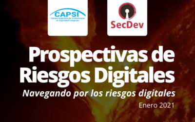 Prospectiva de riesgos digitales | Enero 2021