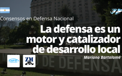 La defensa es un motor y catalizador de desarrollo local