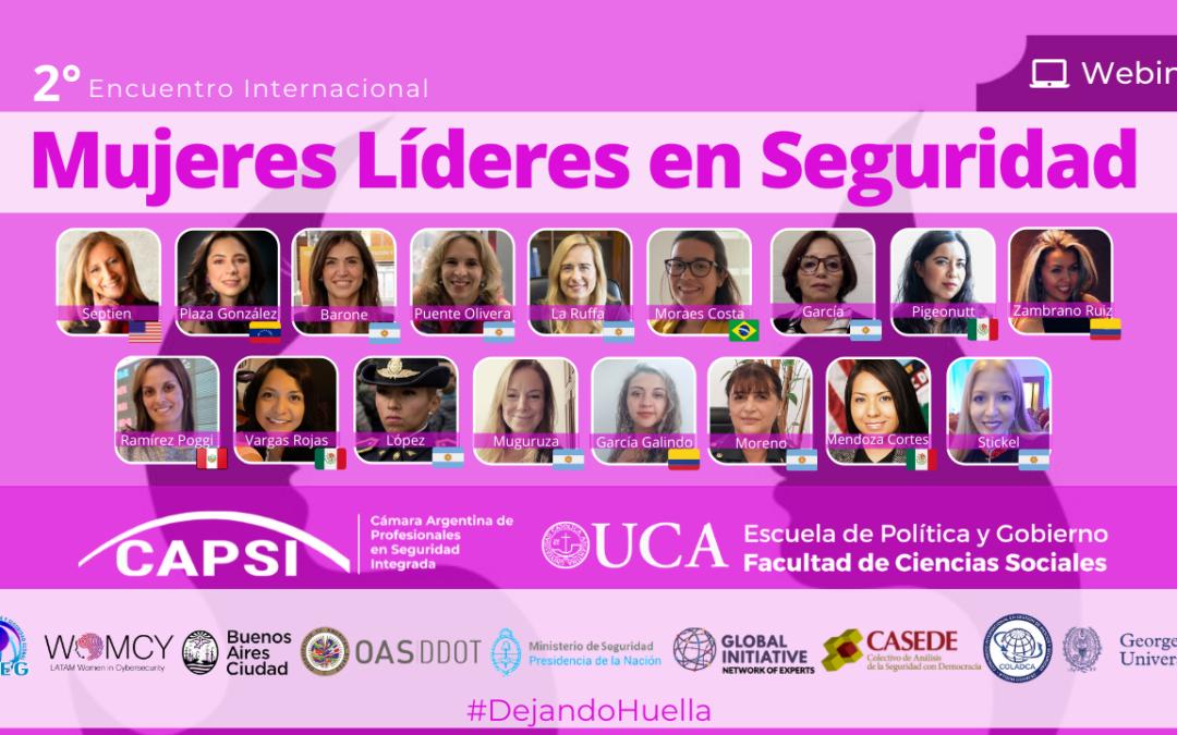 """IIº Jornada Internacional """"Mujeres Líderes en Seguridad""""Mujeres"""